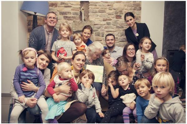 Křest s dětmi